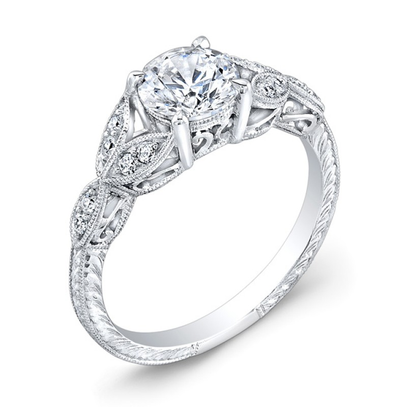 Elegantly Designed Diamond Engagement Ring