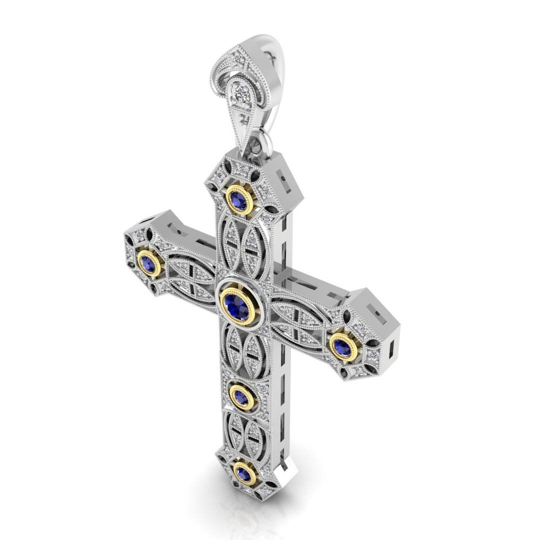 Custom Cross Pendant