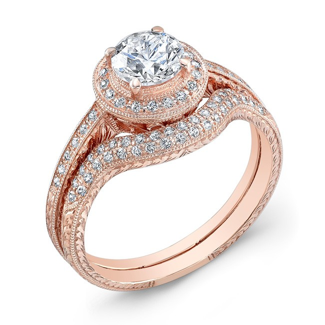 Halo Style, Diamond Engagement Ring