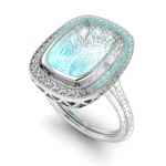 Custom Designed, Aqua Ring