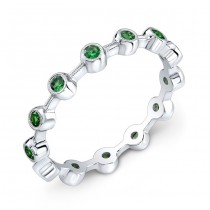 Stackable Tsavorite Ring