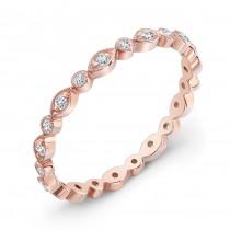 Stackable Diamond Wedding Ring