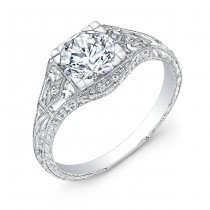 R034AD Diamond Engagement Ring