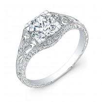 R034AD Diamond Engagement Ring