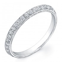 Angled Diamond Ring