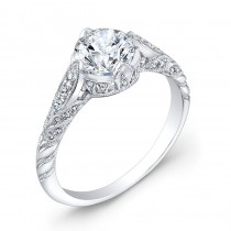Art Deco Style, Diamond Engagement Ring