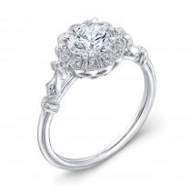 Diamond Halo, Engagement Ring