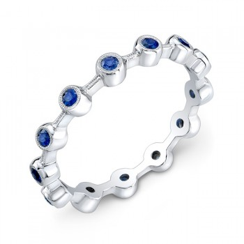 Stackable Ring Sapphire Ring