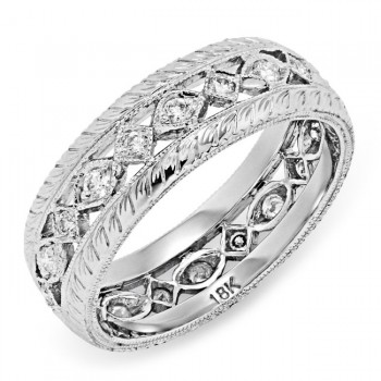 Micro Pave' Diamond Ring