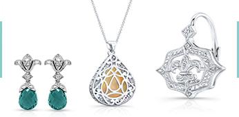 Jolie Designs earrings, pendants and more